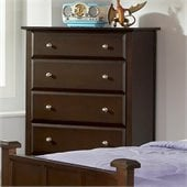 Coaster Jasper 5 Drawer Chest in Cappuccino Finish