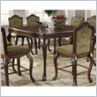 ADD TO YOUR SET: Coaster Andrea Traditional Counter Height Dining Table