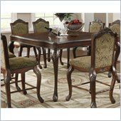 Coaster Andrea Traditional Counter Height Dining Table