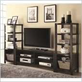 Coaster Curved Front Entertainment Center