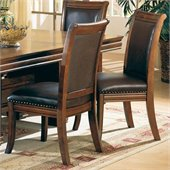 Coaster Westminster Dining Side Chair in Cherry