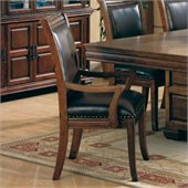 Coaster Westminster Dining Arm Chair in Cherry