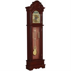 Coaster Grandfather Clock in Oak