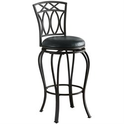 Coaster 29 Elegant Metal Barstool in Black