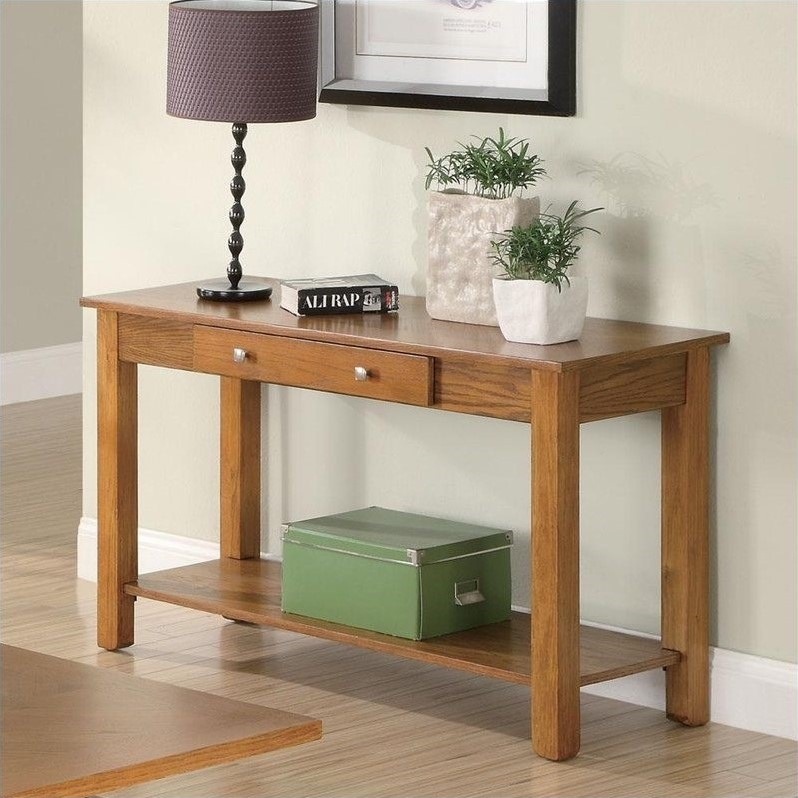 deep console table coaster occasional group sofa table deep brown