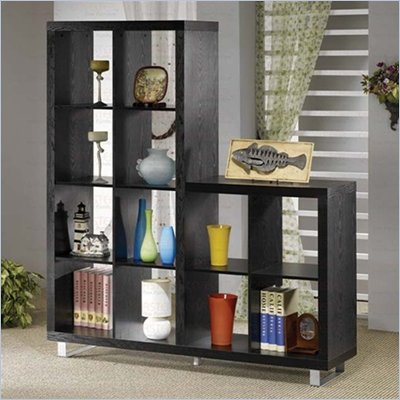 Coaster  Wall Unit Bookcase in Black 
