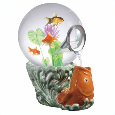 Coaster Aquatica Magic Globe - Koi Goldfish