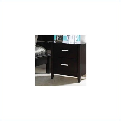 Coaster Cappuccino Brown Nightstand