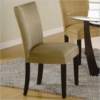 Coaster Bloomfield Parson Side Chair with Taupe Fabric