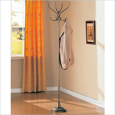 Coaster Metallic Finish Coat Rack 