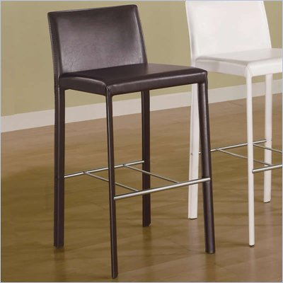 Coaster 29 Inch Bar Stool in Chocolate