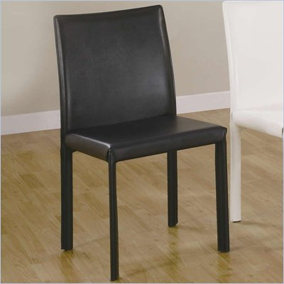 Coaster Dining Side Chair in Black