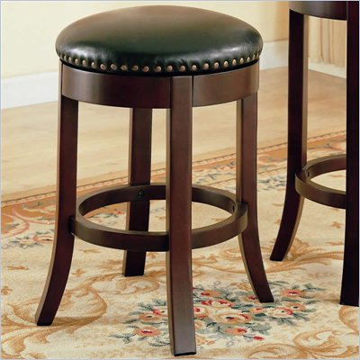 Coaster 24 Inch Swivel Bar Stool