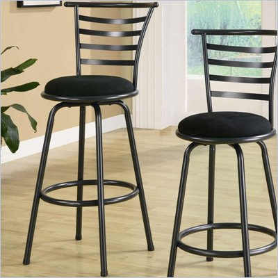 Coaster 29 Inch Metal Bar Stool in Gunmetal