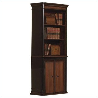 Coaster Three Shelf Two Tone Bookcase in Brown