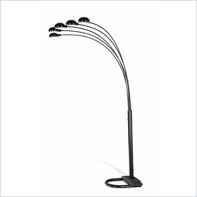 Coaster Black Overhead Sofa Floor Lamp