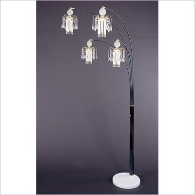 Coster Chandelier Shades Floor Lamp