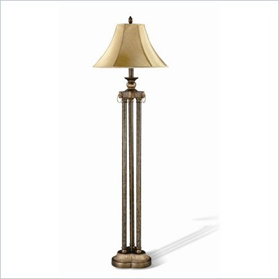 Coster Carved Accent Floor Lamp