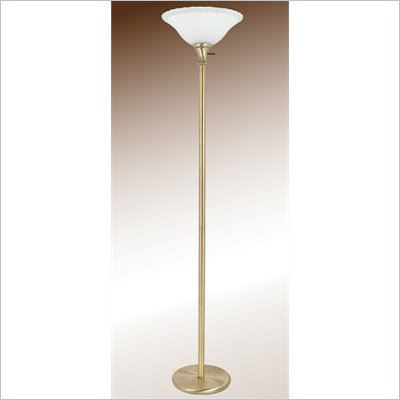 Coaster Floor Lamp in Antique Dark Bronze
