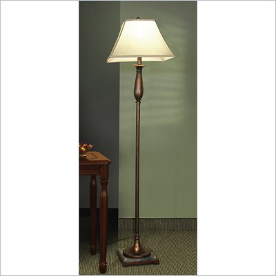 Coaster Poly Base Floor Lamp in Dark Bronze