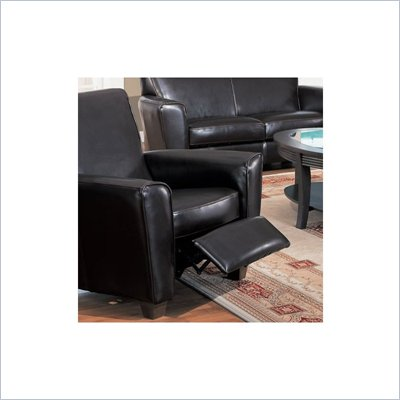 Coaster Furniture Recliner Chair in Espresso Brown Bycast Leather