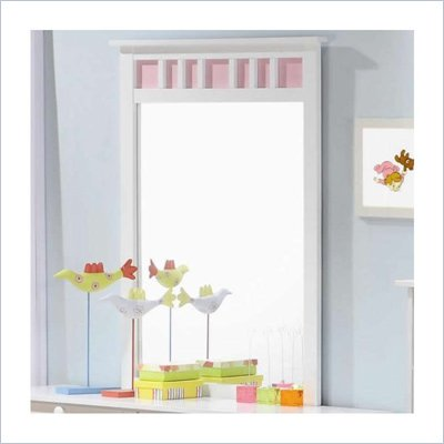 Coaster Lindsley Vertical Dresser Mirror w/ Interchangeable Panels