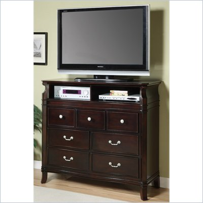 Coaster Manhattan Media Chest in Dark Espresso Finish