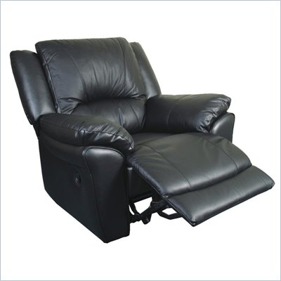 Promenade Casual Leather Recliner