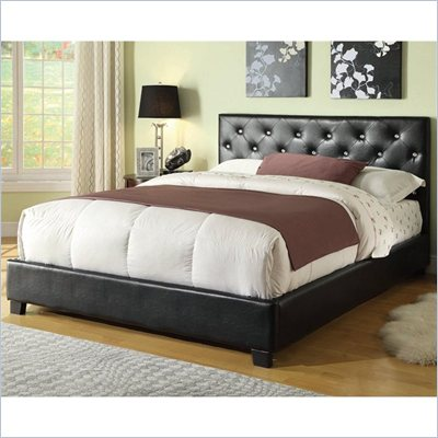 Coaster Regina Upholstered Bed with Button Tufting