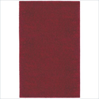 Coaster Wine Red Solid Shag Rug