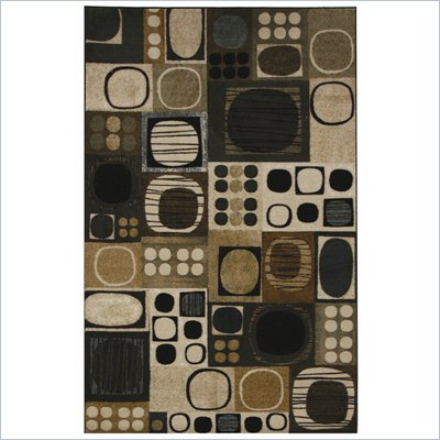 Coaster Circle Pattern Rug