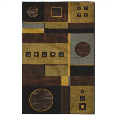 Coaster Geometric Pattern Rug