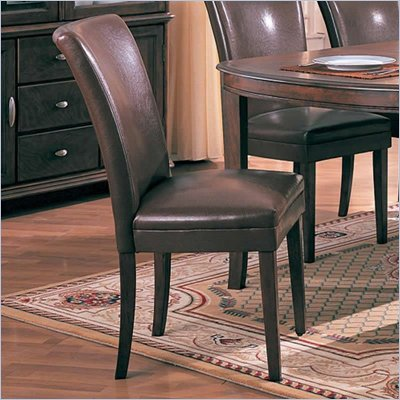Coaster Soho Parson Side Chair in Brown
