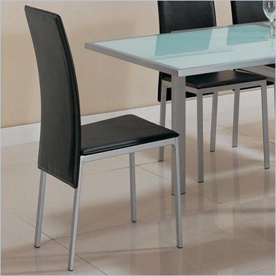Coaster Sunrise Upholstered Dining Side Chair