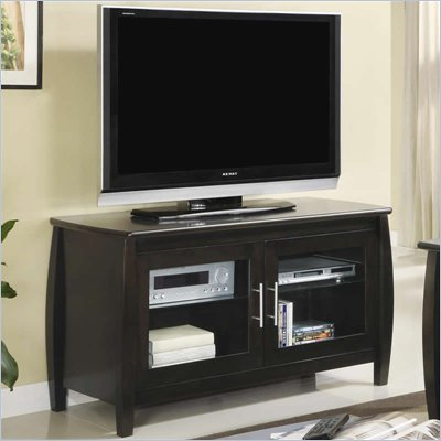 Coaster TV Stands Contemporary Media Console with Doors