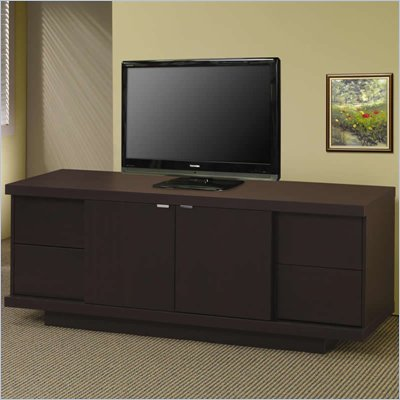Coaster TV Stands Contemporary Media Console with Drawers and Shelves
