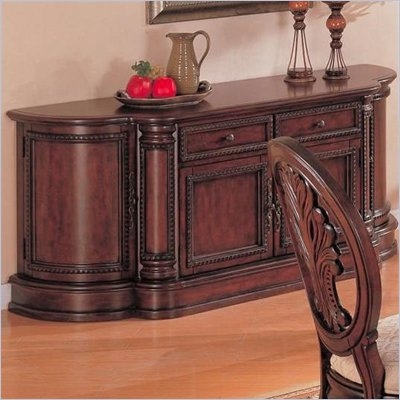 Coaster Tabitha Traditional China Buffet in Cherry Finish