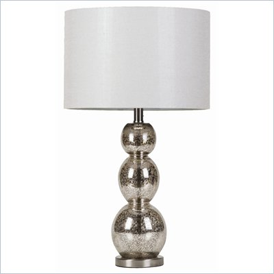 Coaster Metallic Finish Table Lamp