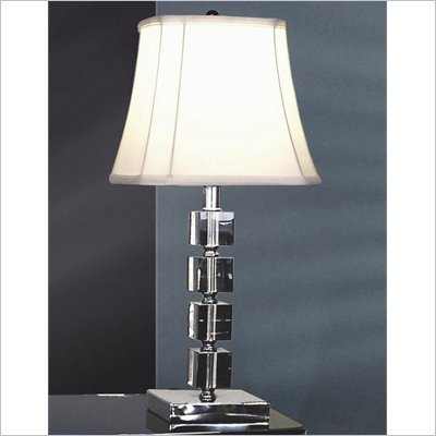 Coaster Stacked Glass Look Table Lamp