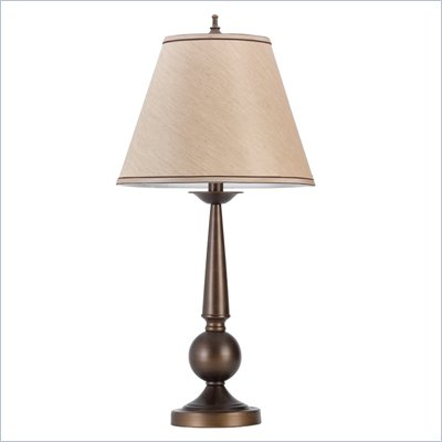 Coaster Table Lamp in Brown