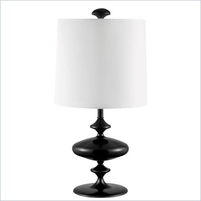 Coaster Table Lamp in Black