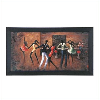 Coaster Wall Art Painting - Dancing Queen