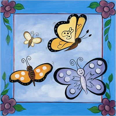 Coaster Kids Wall Art - Mariposa