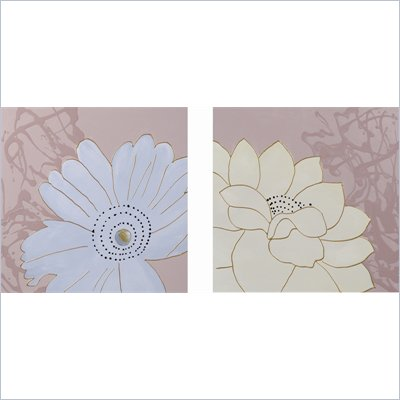 Coaster 2-Piece Wall Art - Daisy Delight 
