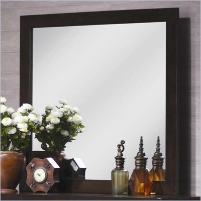 Coaster Zoe Dresser Mirror in Dark Brown
