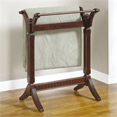 Powell Furniture Merlot Contemporary Blanket Rack