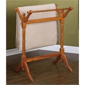 Powell Furniture Nostalgic Oak Blanket Rack