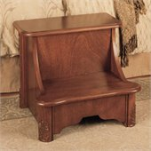 Powell Furniture Woodbury Mahogany Bed Step