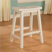 Powell Furniture Color Story Pure White Counter Stool