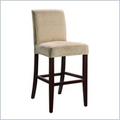 Powell Furniture Tan Chenille Slip Over or Counter Stool or Bar Stool